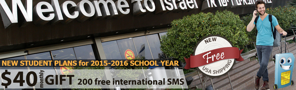 SIM cards for Israel with UNLIMITED everything